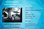 2017 WGHS OLD GIRLS ANNUAL DINNER